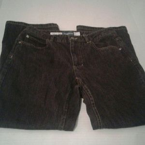 Liz Claiborne black wash jeans